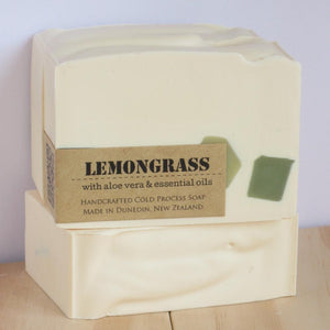 Lemongrass Artisan Soap-NZ SKINCARE-Inga Ford Soapmaker (NZ)-The Outpost NZ