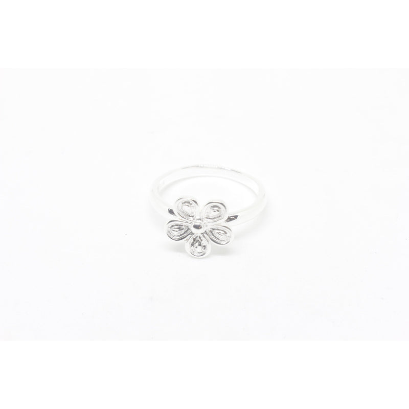 Lilly Silver Ring-JEWELLERY / RINGS-Silver Mature (THA)-55-The Outpost NZ