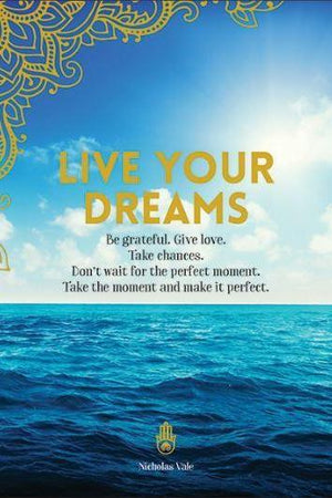 Live Your Dreams Sea Card-NZ CARDS-Affirmations (NZ)-The Outpost NZ