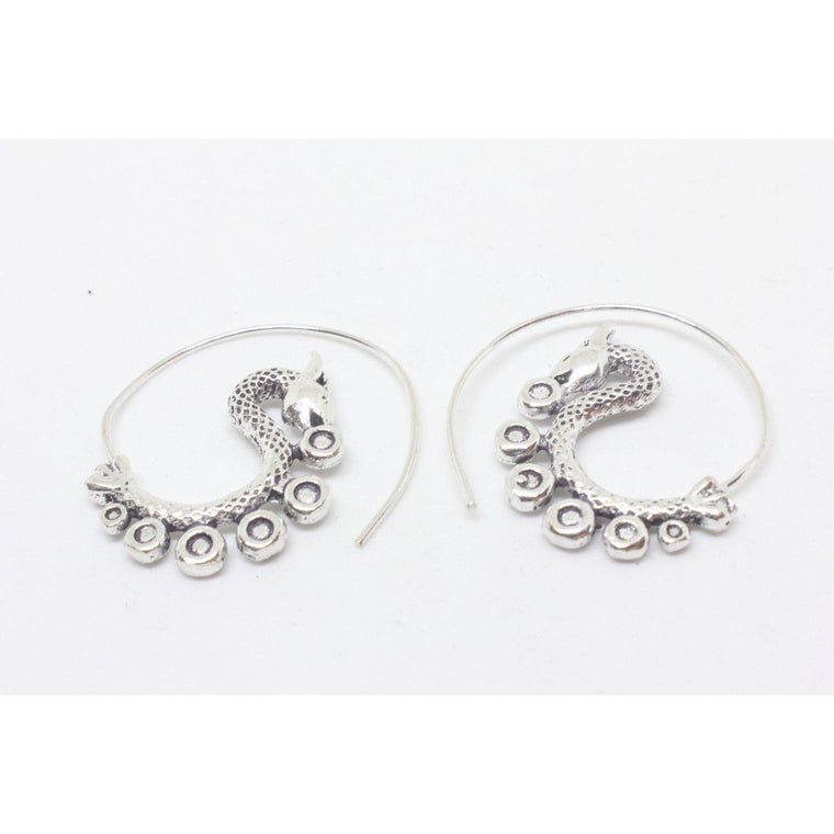 Maarika Silver Plated Earrings