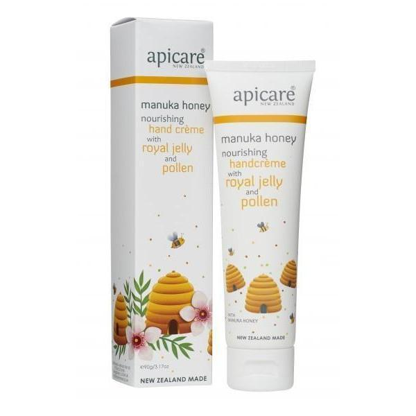 Manuka Honey Handcreme- Royal Jelly & Pollen 90g-NZ SKINCARE-Honey & Herbs (NZ)-The Outpost NZ