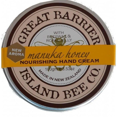 Manuka Honey Nourishing Hand Cream 100g-NZ SKINCARE-Fragrance Holdings (NZ)-The Outpost NZ