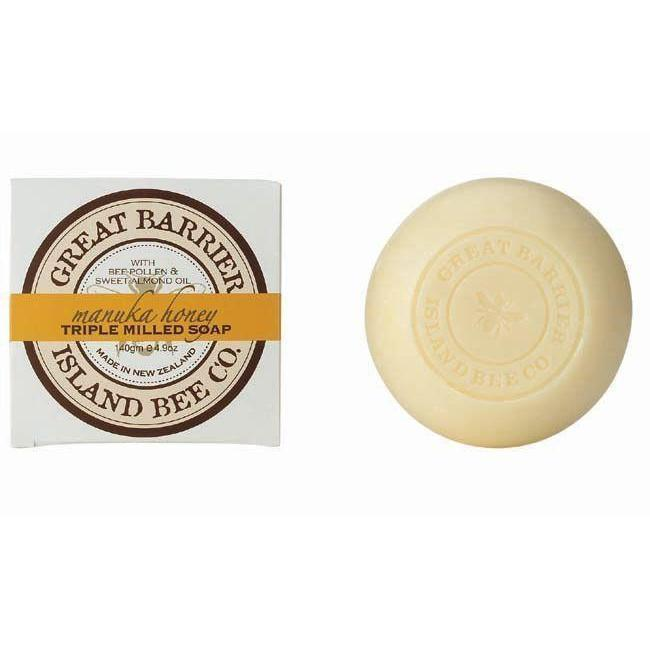 Manuka Honey Triple Milled Soap 140g-NZ SKINCARE-Fragrance Holdings (NZ)-The Outpost NZ