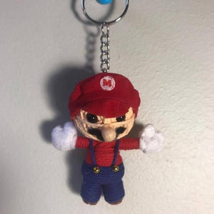Mario Key Ring-Stationery-Not specified-The Outpost NZ