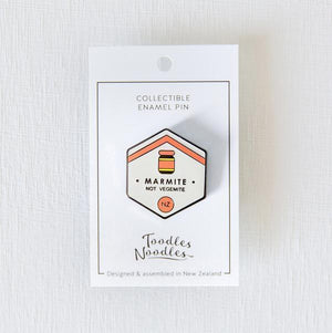 Marmite Kiwiana Pin-NZ ACCESSORIES-Live Wires (NZ)-The Outpost NZ