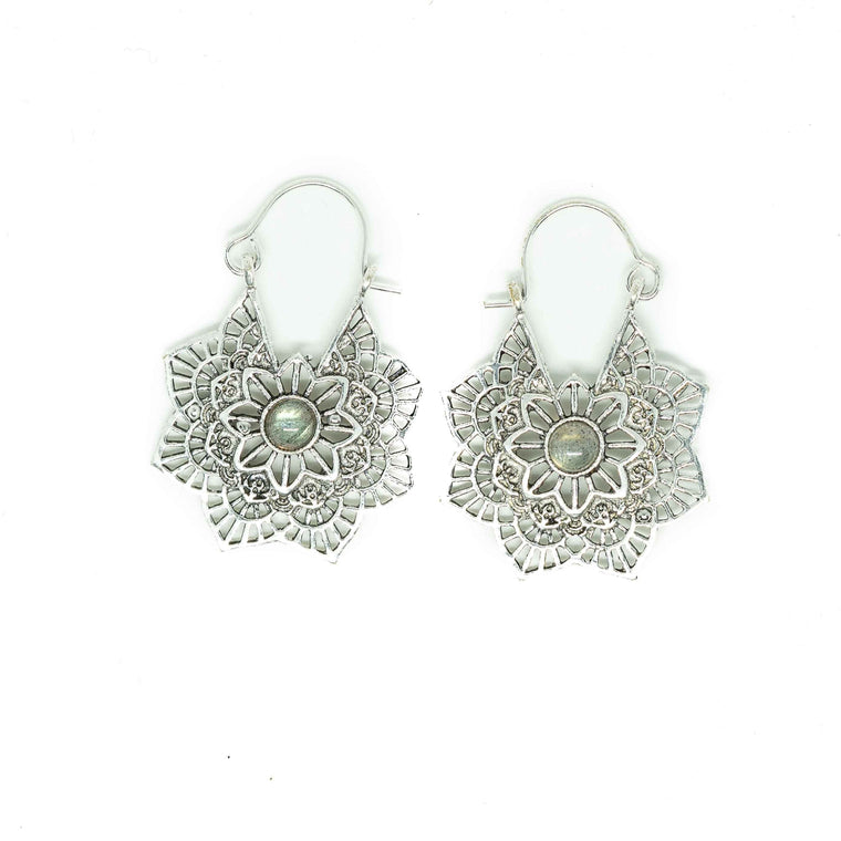 Maya Silver Plated Earrings