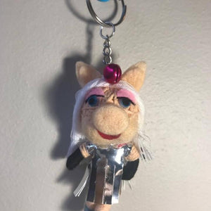 Miss Piggy Key Ring-Stationery-Not specified-The Outpost NZ