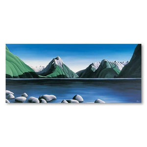 Mitre Peak Milford Sound Canvas By Diana Adams,NZ ART,The Outpost NZ The Outpost NZ, New Zealand, outpost, Queenstown