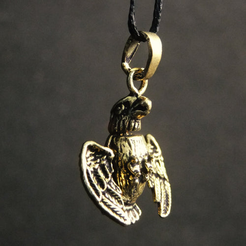 Movable Eagle Pendant-JEWELLERY / NECKLACE & PENDANT-Not specified-Brass-The Outpost NZ