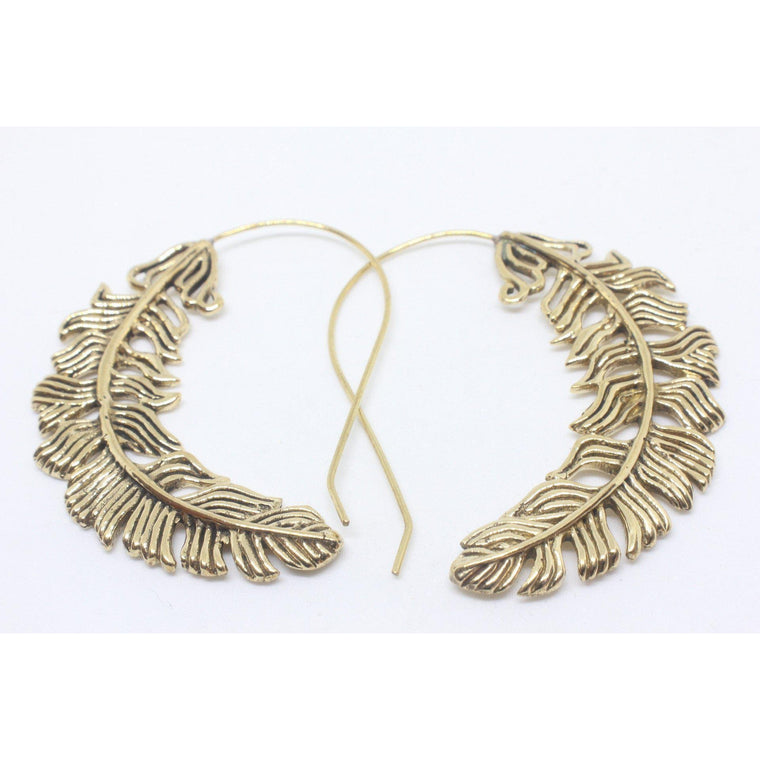 Naeva Brass Earrings