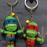 Ninja Turtles Key Ring-STATIONERY-A-ON (THA)-The Outpost NZ