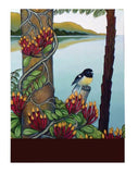NZ Birds Notepad-NZ STATIONERY-Live Wires (NZ)-Miromiro-The Outpost NZ