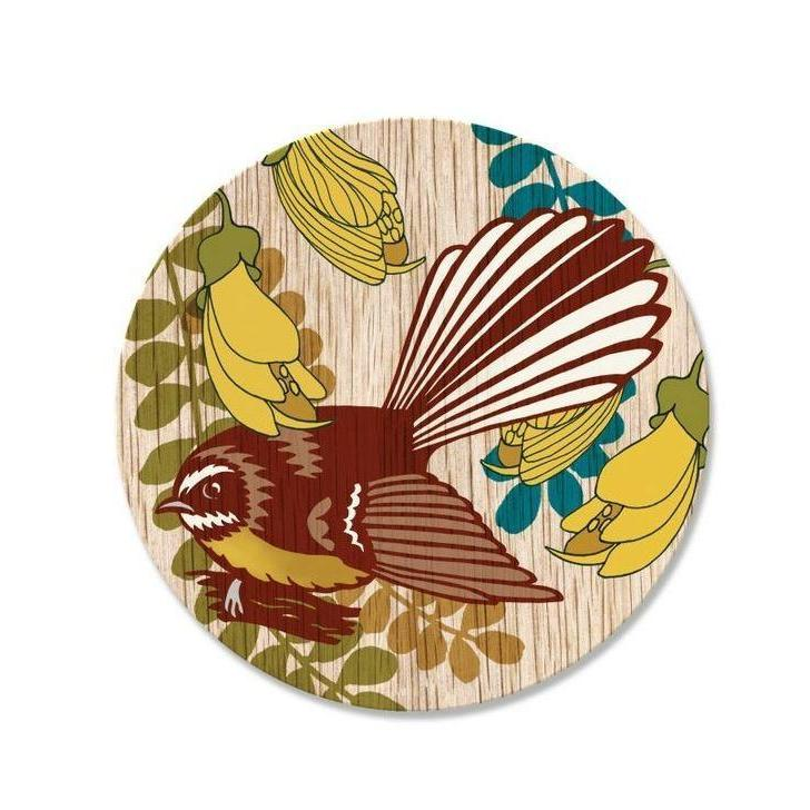 NZ Birds Round Coasters