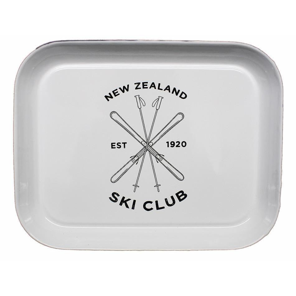 NZ Ski Club Tray-NZ HOMEWARES-Moana Road (NZ)-The Outpost NZ
