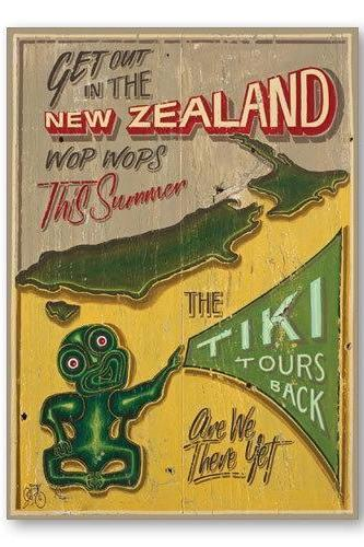 NZ Tiki Tour Gift Card-NZ CARDS-Image Vault ltd (NZ)-The Outpost NZ
