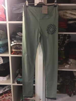Organic Lotus Leggings-CLOTHING / PANTS-Trance Trip (NEP)-Blue-S-The Outpost NZ
