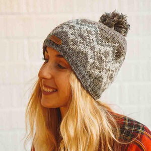 Zigzag Beanies - The Outpost NZ