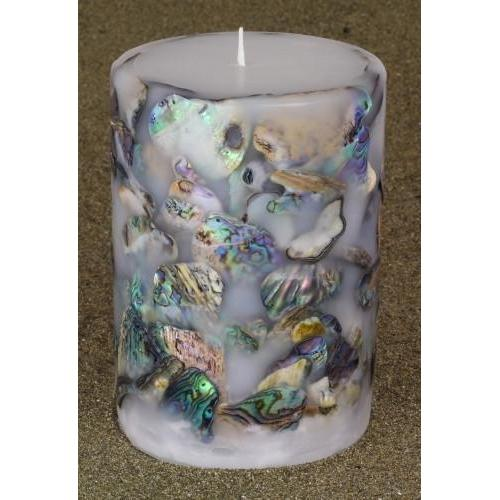 Paua Candle Large Bucket-NZ CANDLES-National Candles Ltd (NZ)-The Outpost NZ
