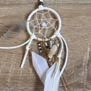 Pavati Dreamcatcher Necklace-SALE/NECKLACE & PENDANT $10-Iyada Shop (THA)-The Outpost NZ
