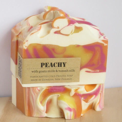 Peachy Artisan Soaps-NZ SKINCARE-Inga Ford Soapmaker (NZ)-The Outpost NZ