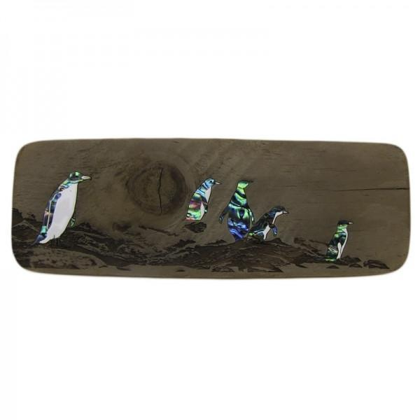 Penguins Recyclewood-NZ HOMEWARES-Ocean Shell Studios (NZ)-The Outpost NZ