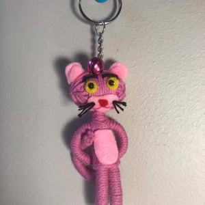 Pink Panther Key Ring-Stationery-Not specified-The Outpost NZ