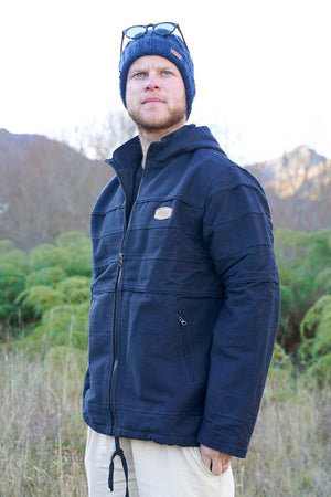 Piping Jacket-CLOTHING / OUTERWEAR-Lovely Felt (NEP)-Black-S-The Outpost NZ[Mens]