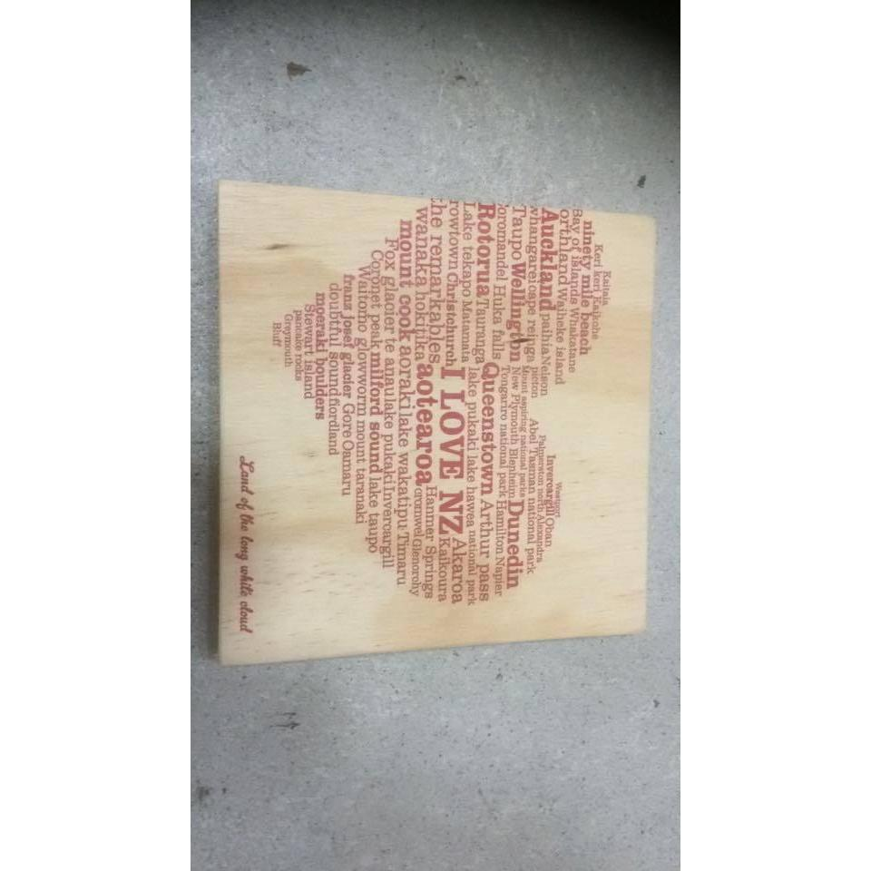 Ply Wall Art-SALE / NZ-Crystal Ashley (NZ)-210mm x 210mm-I <3 NZ-The Outpost NZ