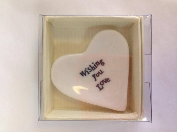 Porcelain Dish Heart-NZ HOMEWARES-Heaven in Earth (AUS)-Happiness-The Outpost NZ