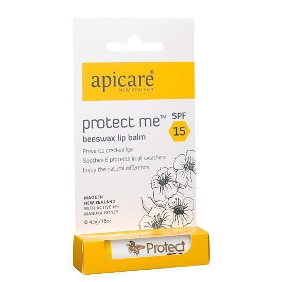 Protect Me Beeswax Lip Balm SPF 15 4.5g-NZ SKINCARE-Honey & Herbs (NZ)-The Outpost NZ