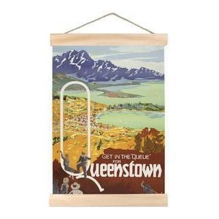 Queue For Queenstown Mini Wall Chart