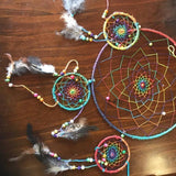 Rainbow Dreamcatchers-HOMEWARES-Not specified-Large Tiered-The Outpost NZ