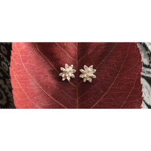Ratree Silver Studs-JEWELLERY / EARRINGS-Silver Mature (THA)-The Outpost NZ