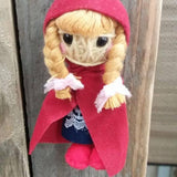 Red Riding Hood Key Ring-Stationery-Not specified-The Outpost NZ