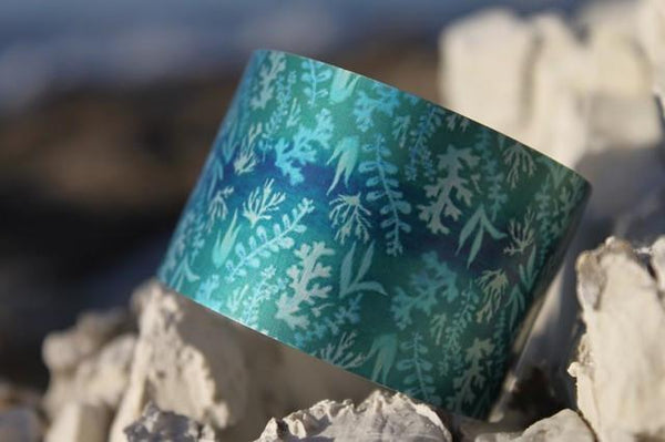 Reef Cuff-NZ JEWELLERY-Not specified-Aqua-The Outpost NZ