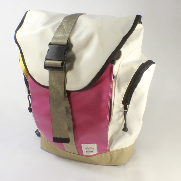 Roamer Pink/White/Beige Backpack BS