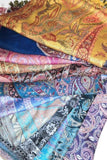 Saibini Shawl-ACCESSORIES / SCARVES-Varanasi Silk (IND)-Purple-The Outpost NZ