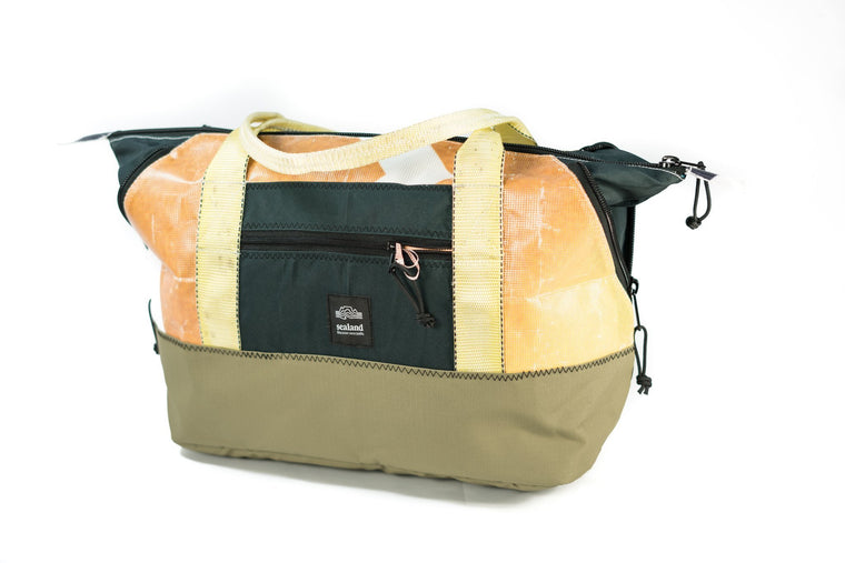 Shel Orange/Sea Green Carry Bag ABM