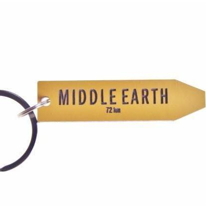 Sign Post Key Rings