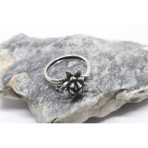 Small Rune Silver Adjustable Ring-JEWELLERY / RINGS-Silver Mature (THA)-The Outpost NZ
