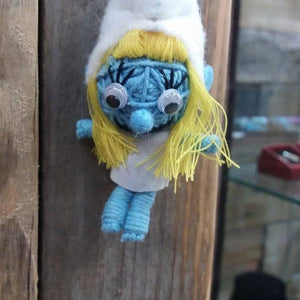 Smurfette Key Ring-Stationery-Not specified-The Outpost NZ