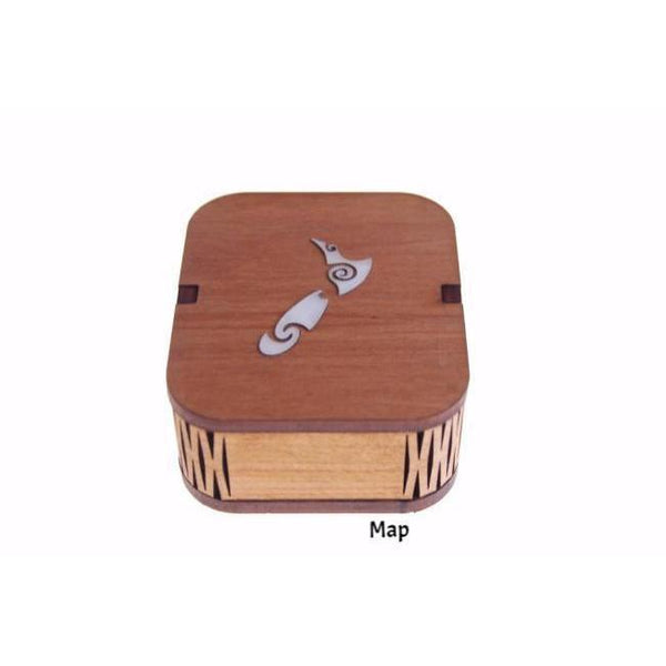 Something Special Box-NZ HOMEWARES-Ian Blackwell (NZ)-Map-The Outpost NZ