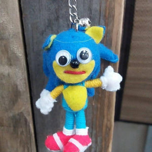 Sonic Boom Key Ring-Stationery-Not specified-The Outpost NZ
