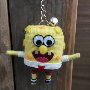 SpongeBob Key Ring-Stationery-Not specified-The Outpost NZ