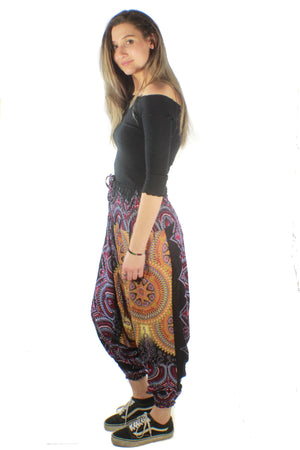 Stella Aladdin Pants-CLOTHING / PANTS-Big Colour (THA)-Black-The Outpost NZ