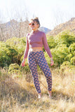 Sunshine Leggings-CLOTHING / PANTS-Sunshine (THA)-Petal Mandala-Green-The Outpost NZ