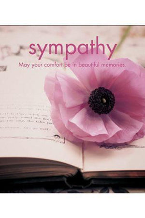 Sympathy May Your Comfort Card-NZ CARDS-Affirmations (NZ)-The Outpost NZ