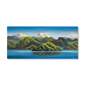 The Hills Sigh Canvas By Mike Glover,NZ ART,The Outpost NZ The Outpost NZ, New Zealand, outpost, Queenstown