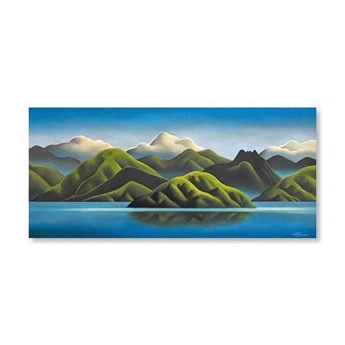 The Hills Sigh Canvas By Mike Glover-NZ ART-Image Vault ltd (NZ)-The Outpost NZ