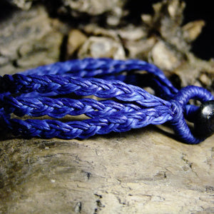 Tri Strand Wax Bracelet-JEWELLERY / BRACELET-M Square Collection (THA)-Blue-The Outpost NZ